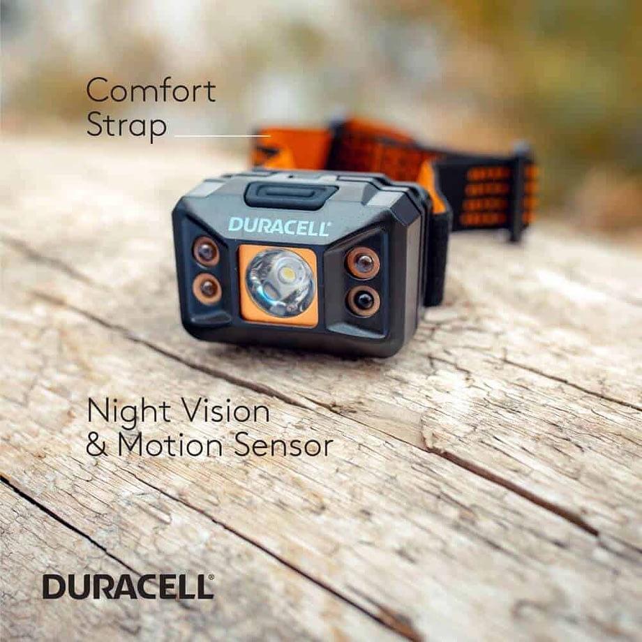 Comfort Strap, Night Vision & Motion Sensor