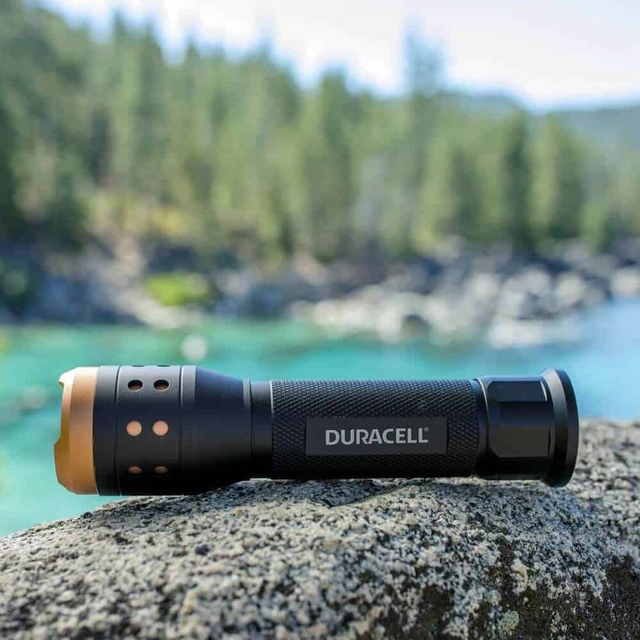 700 lumen flashlight at Lake Tahoe