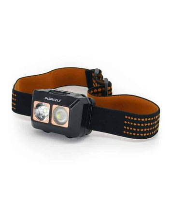 400 Lumen Dual-Beam Headlamp - Front View