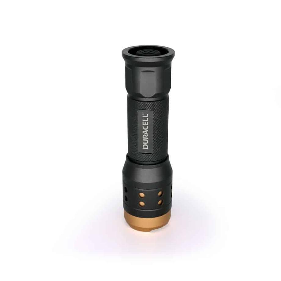 350 Lumen Flashlight standing upright
