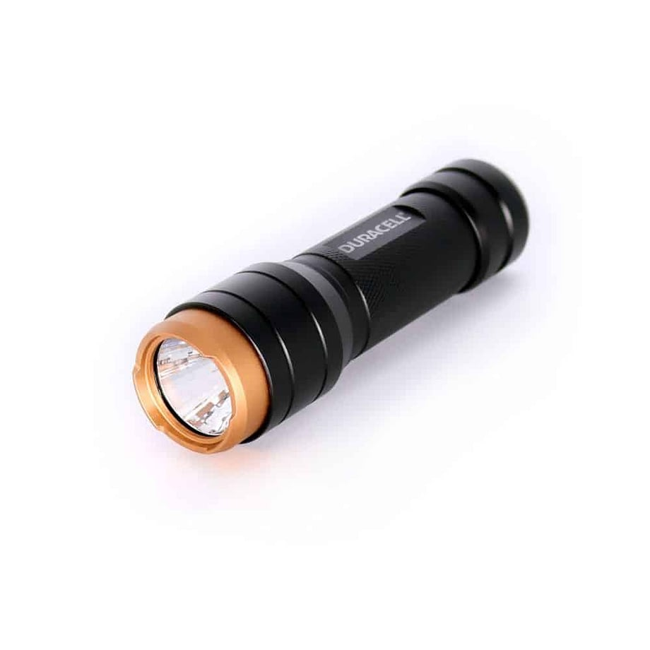 250 Lumen Aluminum Flashlight Side Angle
