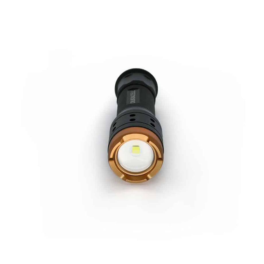 700 lumen flashlight from the front